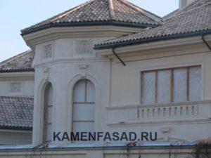 Известняк внешняя отделка фасад
